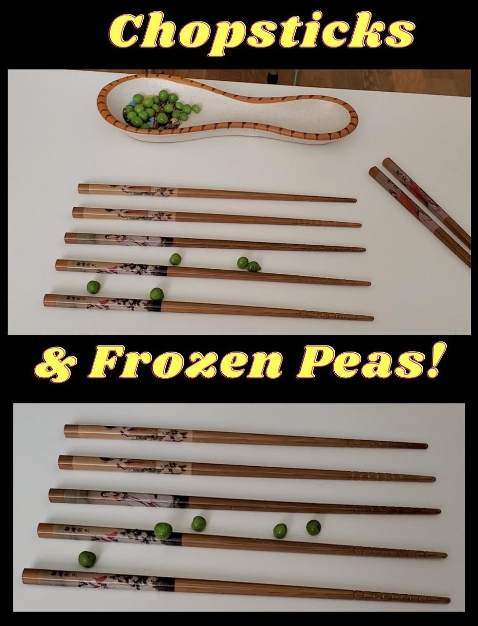 Chopsticks & Peas 2