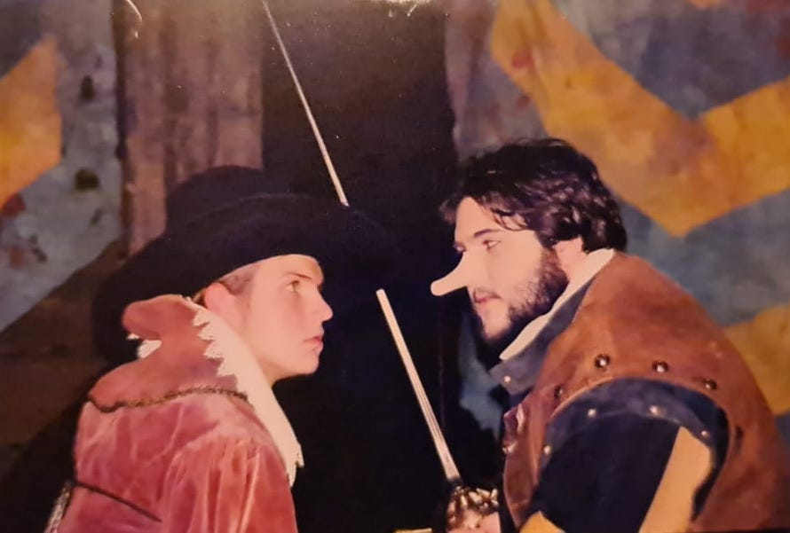 Scott Welcomme in Cyrano de Bergerac