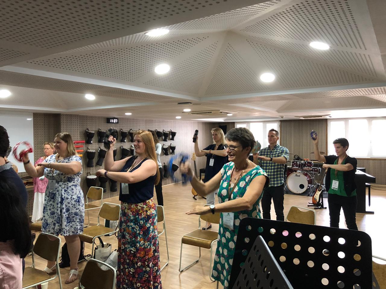 Ho Chi Minh Tambourine Workshop
