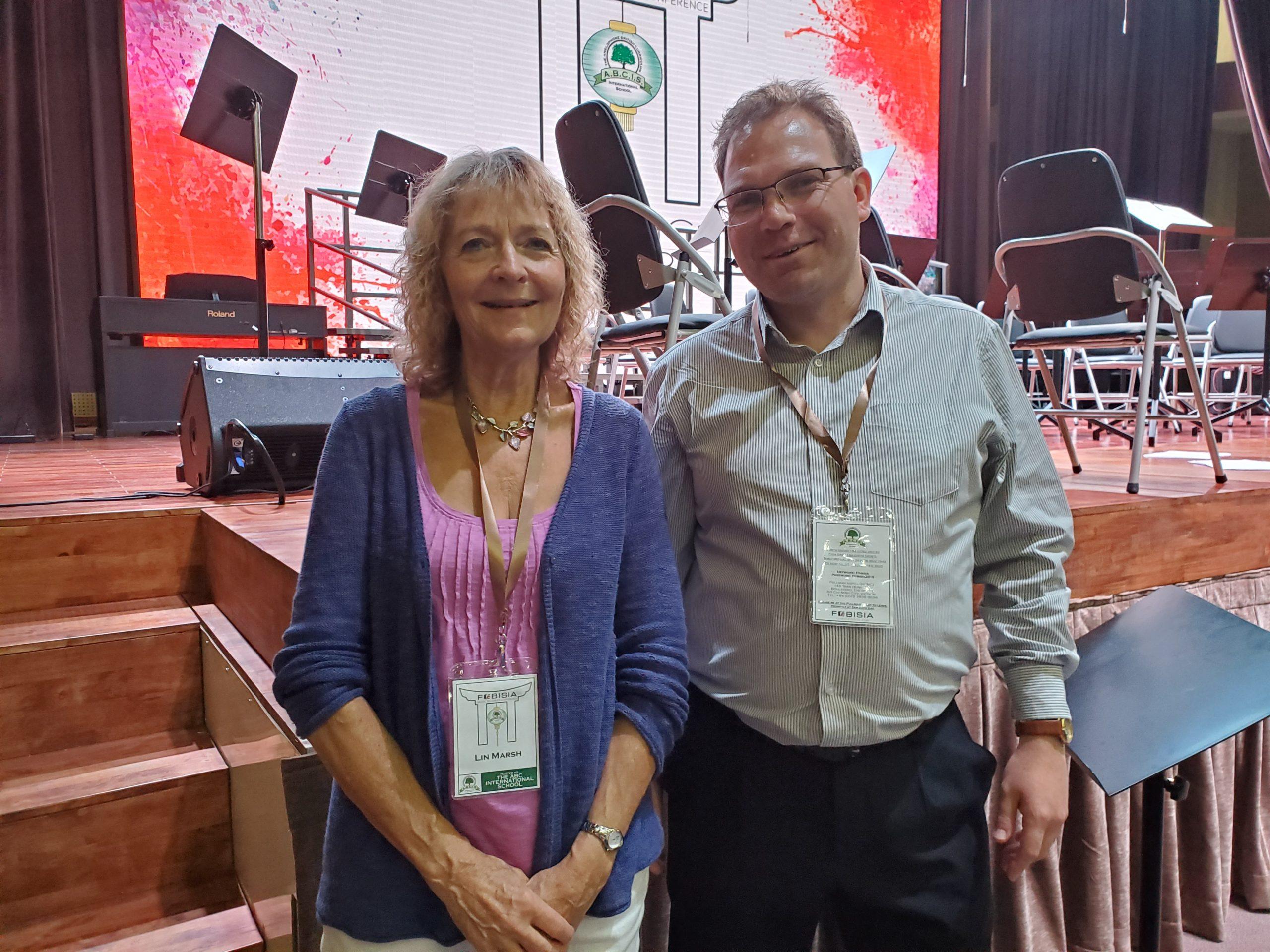 Scott Welcomme & Lin Marsh