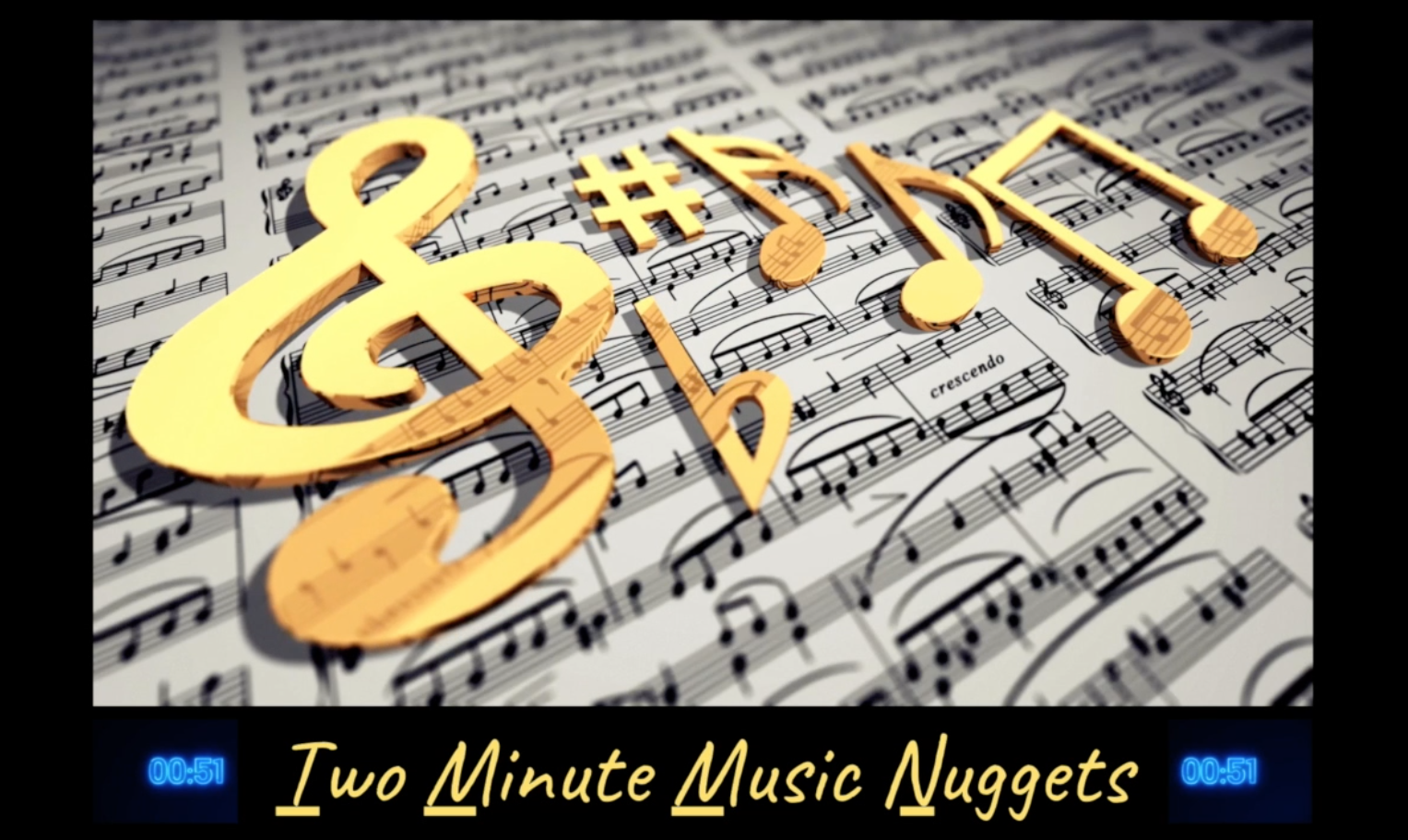 Two Minute Music Nuggets screenshot
