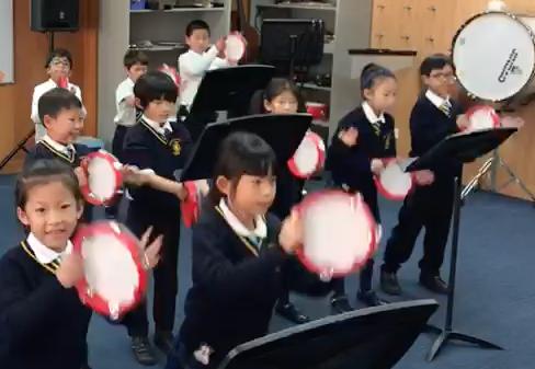 Tambourines Wellington College- Shanghai